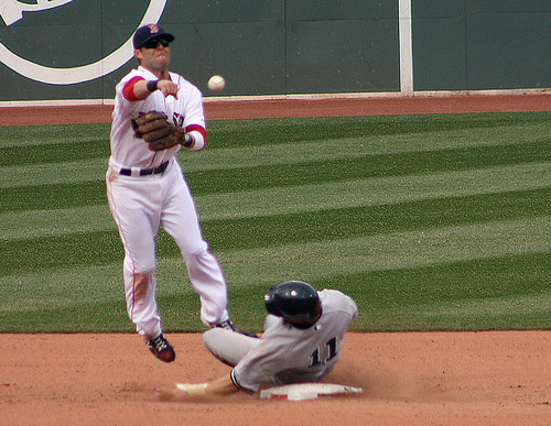 Anchoring a sweet double play