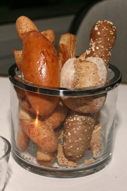 The magnificent glass jar of artisan breads!