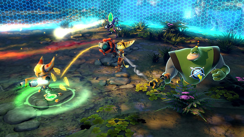 Ratchet & Clank: All 4 One - Terawatt decoy