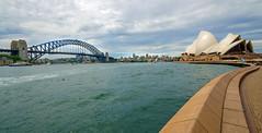 Harbour Bridge House (kevincardosi) Tags: sydneybridge sydneyoperahouse opera house bridge sydneybridgeclimb australia harbour