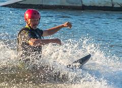 Omnia Cable Ski-0132 (~.Rick.~) Tags: cableski carbrook friends kneeboard omniagroup qld queensland seq team excitement fun ski water australia au