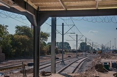 Railway to Metro (fjthijsebaard) Tags: station spoor infra ns metroway railway metro ret rotterdam hoekse lijn trein hoekvanholland hoekselijn train nederland holland