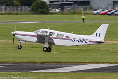 G-GIPC - 1982 build Piper PA-32R-301 Saratoga SP, arriving at Gloucester for Project Propeller 2017 (egcc) Tags: 32r8313005 cherokee egbj fgipc ggipc glo gloucester gloucestershire lightroom n82778 pa32 pa32r pa32r301 pa32r301saratogasp piper projectpropeller projectpropeller2017 saratoga saratogasp staverton