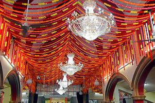 Celebrating 50th anniversary of Geeta Bhavan Mandir (Temple)