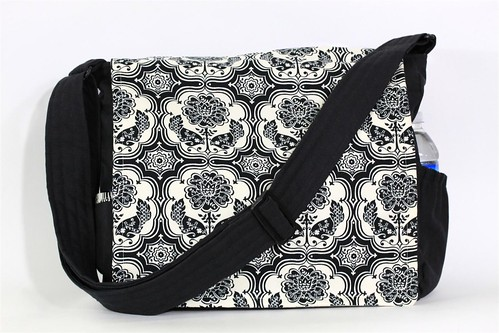 Black and White School Bag