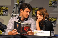"Fillion & Katic read from ""Heat Wave"""