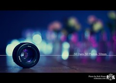 50 Days, 50 Photos, 50mm (Rick Nunn) Tags: colour reflection lens bokeh vivid strobist p502 boktopia p502010
