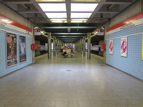 Hartoniemi Station of Helsinki Metro