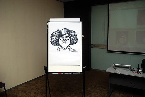 Caricature Workshop for AIA Robinson - Day 2 - 7
