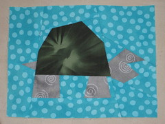 paper pieced turtle