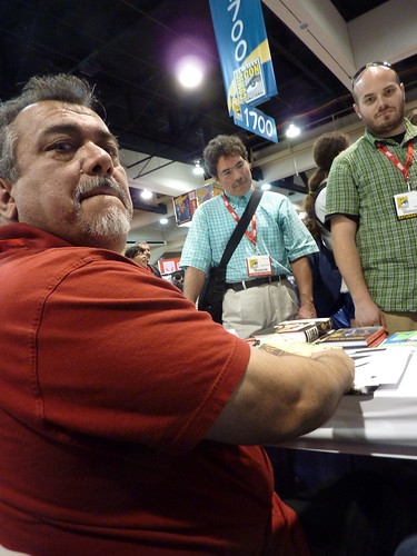 Gilbert Hernandez - Fantagraphics at Comic-Con 2010