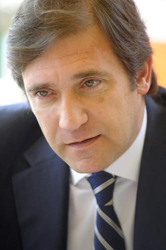 Pedro Passos Coelho em Madrid (5)