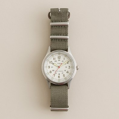 JCREW TIMEX FIELD WATCH