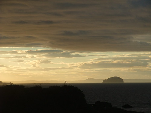 Bass Rock in the gloaming