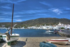 Boat in Cadaqués [HDR]