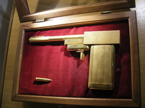 James Bond's Golden Gun