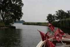 """Richtung Landebrücke von Haithabu, auf dem Haddebyer Noor mit dem Schleifischerboot """"Schle 6"""" von Jörg Nadler - Wikinger Museum Haithabu WHH 31-07-2010"""