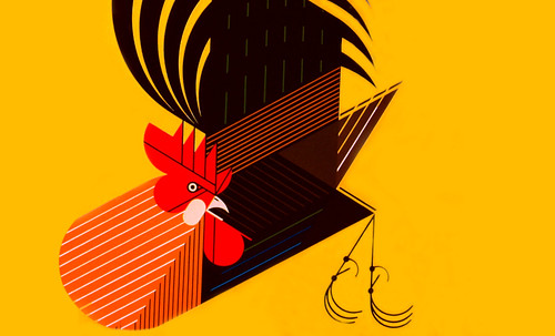 "Charley Harper • <a style=""font-size:0.8em;"" href=""http://www.flickr.com/photos/30735181@N00/4848309294/"" target=""_blank"">View on Flickr</a>"