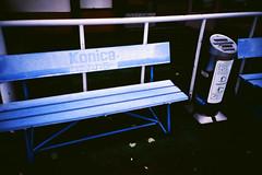 Konica (Markus Moning) Tags: blue lake film japan analog 35mm bench island see lomo lca xpro lomography cross kodak bank x insel elite pro ash tray nippon 100 konica ashtray blau process lc ektachrome processed nakajima aschenbecher moning toya toyako markusmoning
