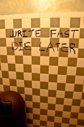WRITE FAST DIE LATER