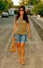 IMG_1555 (Flor de Maria Fashion) Tags: sunglasses shoes bebe bracelets hm jeanshorts forever21 luckybrandjeans marcjacobsbag