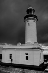 lighthousebw (J-Walkin') Tags: lighthouse stormy hdr nswaustralia norahhead