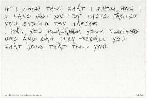 Arcade Fire postcard