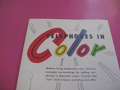 Telephones in Color