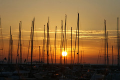 _MG_4011 (Paolo Top) Tags: sunset italy sun canon boat is toscana ef maremma 30d f4l 24105mm