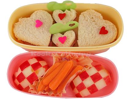 Kids Bento #104 - Lotsa love