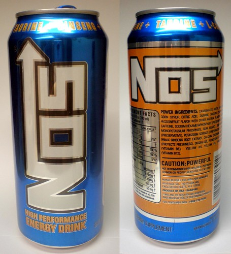 Nos High Performance Energy Drink A Review Food Junk