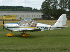 G-CCEM (QSY on-route) Tags: summer fly madness in breighton gccem 22082010