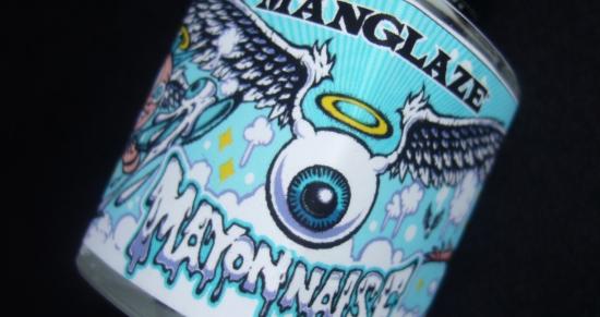 ManGlaze Mayonnaise Hot Mess Matte White