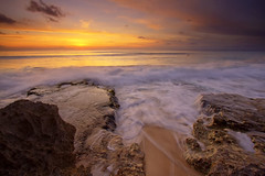 Dreamland-Bali (Helminadia Ranford) Tags: light sunset bali motion indonesia day cloudy dusk wave dreamland