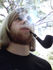 Pipe Smoke (fhmetalguitarist) Tags: beard pipe smoking smoker pipesmoker pipetobacco tobaccopipe