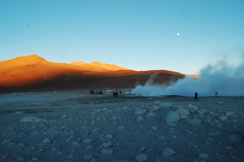 Sunrise at the Geysers
