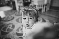 20100904 IMG_6841-Edit (efroten) Tags: portrait bw playing girl bigeyes kid dof 5d 24mm playful stockton shallowdof emmajohnson 24mmf14l 24l postedseptember4th2010