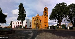 Iglesia Santa Maria Tepepan (BRUJERIZZMO) Tags: mexico df ciudaddemexico xochimilco distritofederal tepepan brujerizzmo pueblodetepepan iglesiasantamariatepepan
