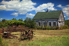 The Old Farmstead (sminky_pinky100 (In and Out)) Tags: old house canada texture rural landscape novascotia decay farm scenic fallingdown urbex maitland omot oncewashome