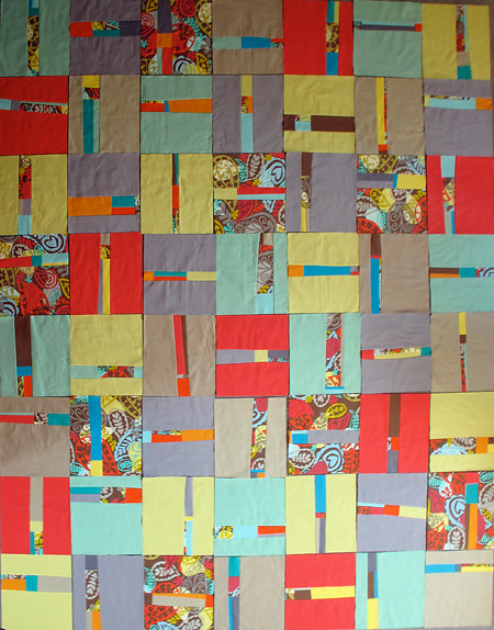 Layout Testing for Not So Straight and Narrow quilt