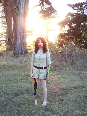 rainbow warrior (Annemarie Gregory) Tags: selfportrait paint bodylanguage rainbowwarrior