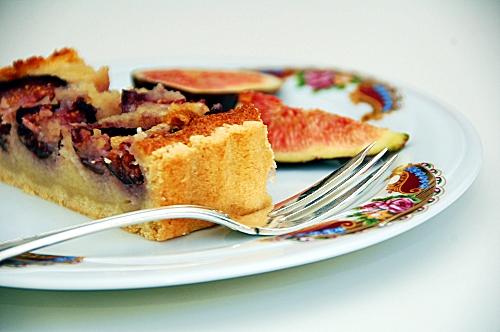 tarte di fichi in crema frangipane