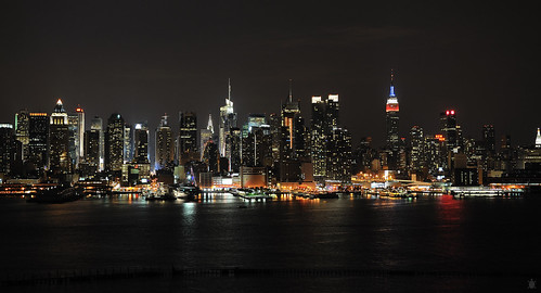 The skyline that never sleeps...