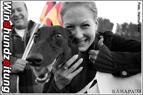 FCI Greyhound Weltmeisterin 2010: Salome vom Monarchenhügel