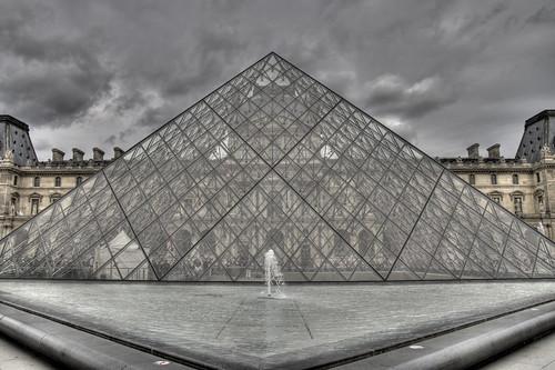 Les Pyramides HDR