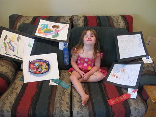Peelu's 2010 fair entries