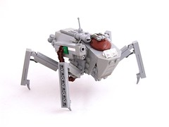 HAFS Gladiator (Mechanekton) Tags: lego military walker scifi vehicle armored mak mech gladiator foitsop maschinenkrueger