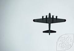 B17 Bomber Overhead (Chad Horwedel) Tags: wisconsin plane airplane fly flight b17 bomber prop oshkosh b17bomber oshkoshairshow