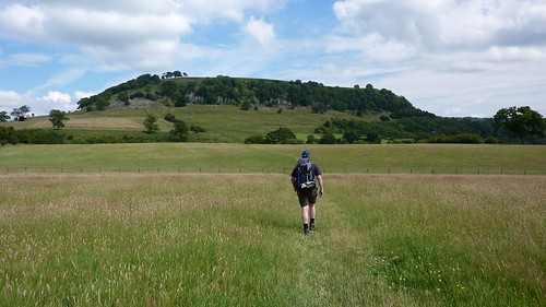 Heading to Applegarth Scar