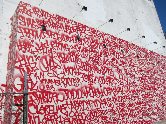 Houston Street Wall by Barry McGee (Twist)